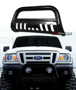 For 1998 2011 Ford Ranger Black Hd Bull Bar Brush Push Bumper Grill Grille Guard