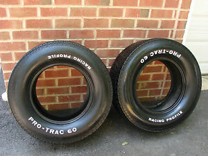 Vintage Pro Trac Racing Profile L60 15 Tires Day 2 Muscle Car Street Rod