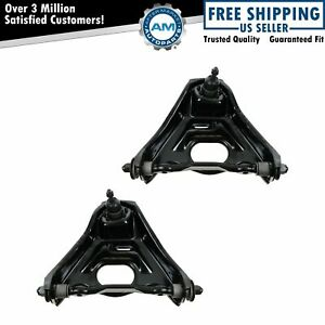 Front Upper Control Arm W Ball Joint Driver Passenger Pair For Buick Chevy