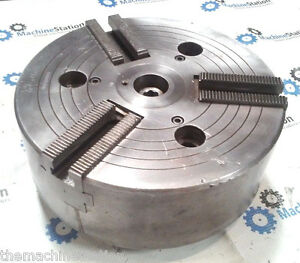 Howa 10 3 Jaw Cnc Lathe Power Chuck W Plain Back Mount