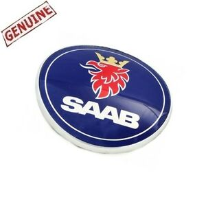 Saab 9 3 1999 2000 2003 Trunk Emblem Genuine 5289897 52 89 897 New