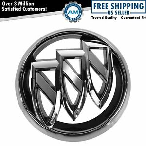 Oem 20913792 Tri Shield Grille Badge Emblem Chrome For 12 15 Buick Verano New