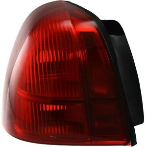 Tail Light For 2003 2011 Lincoln Town Car Driver Side