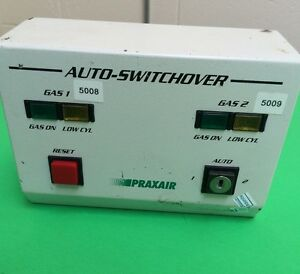 Praxair Auto switchover High Purity Inert Switch Over Controller