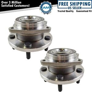 2 Front Wheel Bearing Hub Assembly Fits Chrysler 200 Sebring Dodge Avenger