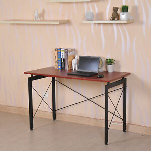 New Work Desk Home Office Computer Desk Writing Table Room Studying Bronze