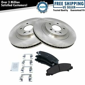 Nakamoto Front Premium Posi Metallic Disc Brake Pad Rotor Set For Buick