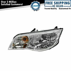 Headlight Headlamp Driver Side Left Lh New For 03 07 Saturn Ion Coupe