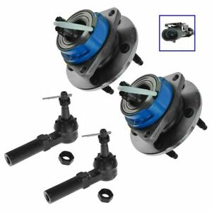 Wheel Hub Outer Tie Rod Kit Front Set Of 4 For Buick Chevy Olds New