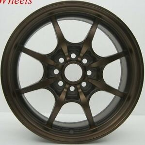 15x6 5 Rota Circuit 8 Rims 4x100 Wheels Fits 4 Lug Civic Crx Integra Del So