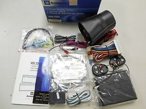 12497737 Gm Car Alarm Vehicle Safety System 1994 2004 Chevy