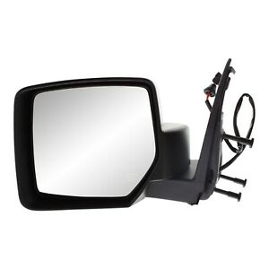 Power Mirror For 2008 2012 Jeep Liberty Driver Side Heated Textured Black