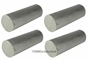 4 Lot 2 25 Inch Diameter 5 Long 6061 Aluminum Round Bar Lathe Rod Stock