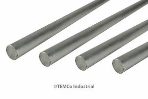 4 Lot 9 16 Inch Diameter 24 Long 6061 Aluminum Round Bar Lathe Rod Stock