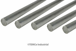 5 Lot 9 16 Inch Diameter 24 Long 6061 Aluminum Round Bar Lathe Rod Stock
