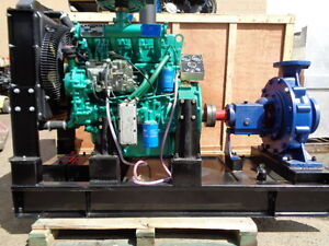 Irrigation Mining Pump Diesel Heavy Duty Large Volume Ricardo 440 Gpm Volume
