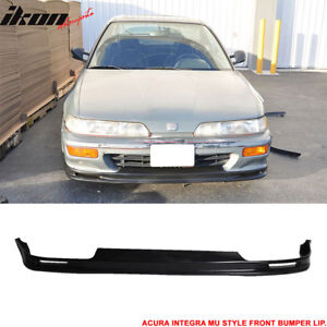 For 92 93 Acura Integra Mugen Style Front Bumper Lip Poly Urethane