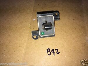 Corvette Rear Window Defroster Defogger Switch Early 77