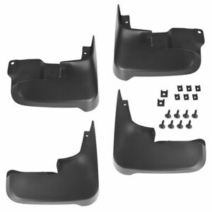Oem Pt76908040 Mud Flap Splash Guard Set Of 4 Black For 04 10 Toyota Sienna New