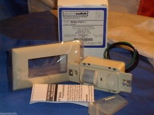 Sensor Switch Wsd pdt i Ivory Motion Detector Line Voltage Wall Switch Wsdpdti