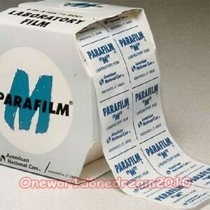 1 Box Parafilm M Laboratory Seal Film Width 4 101mm Length 38 Meters 125ft