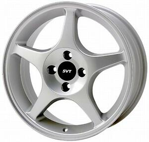 Ford Racing 2000 2011 Silver Svt Focus Wheel M 1007 S177