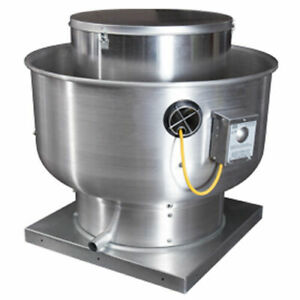 Restaurant Commercial Kitchen Exhaust Blower For 6 Foot Hood