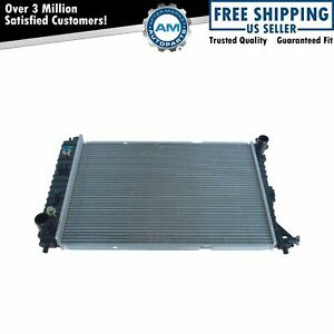 Radiator Assembly Aluminum Core Direct Fit For 97 04 Ford Mustang 4 6 V8 New