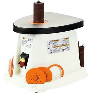 Shop Fox Oscillating Spindle Sander Bench 1 2 3 4 1 1 1 2 2 3 W1831 New