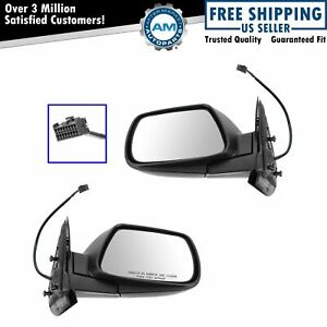 Power Side View Mirrors Left Right Pair Set For 05 10 Jeep Grand Cherokee