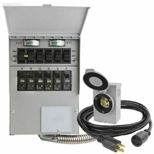 Reliance Controls Pro tran 2 30 amp Power Transfer Switch Kit For Portable