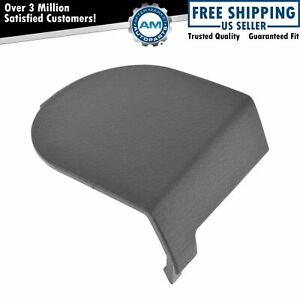 Oem Seat Belt Anchor Cover Trim Front Driver Side Lh Slate Gray For Dodge Jeep