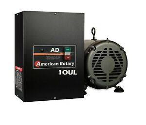Heavy Duty Rotary Phase Converter Ad10 ul 10hp 1 To 3 Three Ph Ul Listed Hd Cnc