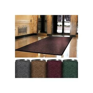 superior Vinyl Carpet Mat 3 x6 Charcoal 1 each