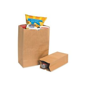 Box Partners Grocery Bags 3 4 X 2 1 4 X 11 1 2 Kraft Price Is Per Case