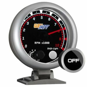 Glowshift Tinted 3 3 4 Tachometer W Shift Light
