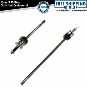 Brand New Front Cv Axle Shaft Assembly For Grand Cherokee 99 04 Pair Set