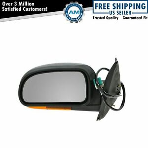 Power Heated Side View Mirror W Amber Signal Driver Left Lh For Chevy Gmc