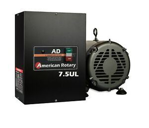Rotary Phase Converter Heavy Duty Ad7 ul 7 5 Hp 1 To 3 Three Ph Ul Listed Hd Cnc