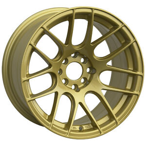 Xxr 530 15x8 Wheels 4x100 114 3 20 Gold Rim Fits Cabrio Del So Xb E30 325 Civic