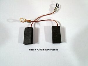 Hobart A200 Mixer Motor Brushes One Pair A200 20qt Brush Style Motors