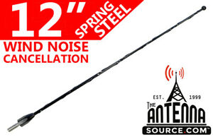 12 Black Spring Stainless Am Fm Antenna Mast Fits 1995 2015 Toyota Tacoma