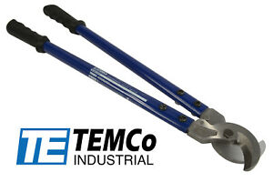 Temco Heavy Duty 18 500 Mcm Wire Cable Cutter Electrical Tool 240mm2 New