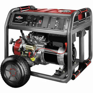 Briggs Stratton 30663 7000 Watt Electric Start Portable Generator