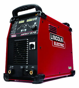 Lincoln Aspect 375 Ac dc Tig Welder K3945 1