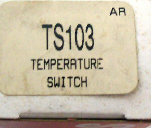 Engine Coolant Fan Temperature Switch Standard Ts 103