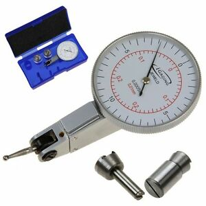 Igaging Dial Test Indicator Inch metric Mm Dual Reading 7 Jewels 0 10 0 0 0005