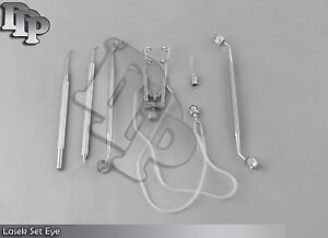 Lasek Set Of 6 Pieces Opthalmic Eye Instruments Ey 050