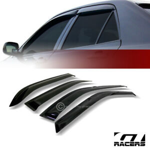 For 1994 1997 Honda Accord 4d Sedan Sun Rain Guard Shade Deflector Window Visors