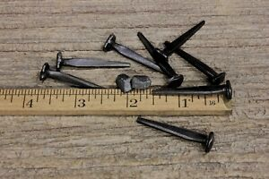 1 1 2 Rose Head 10 Nails Square Wrought Iron Vintage Rustic Decorative Look 1 5